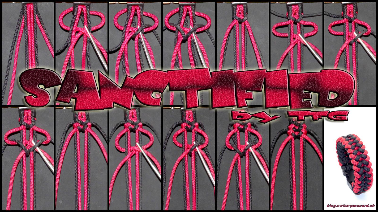 Схемы плетения браслетов из паракорда