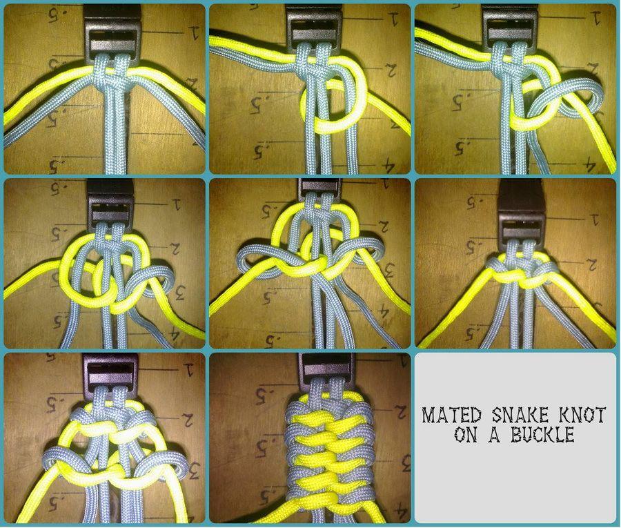 Paracord snake knot diagram Car Tuning